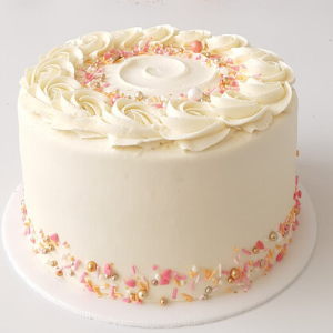 Pastel Buttercream cake