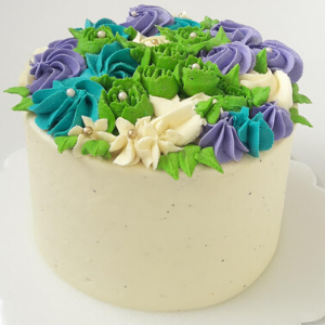 Pastel Buttercream de parchita cake