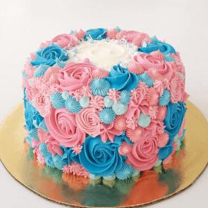 Pastel Buttercream de colores cake
